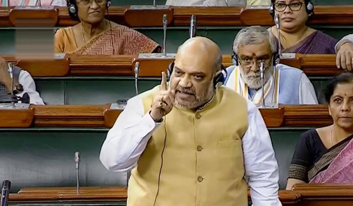 Amit Shah has defended the amendments to the anti-terror law, saying it will give Law Enforcement Agencies an advantage. Photo credit: PTI