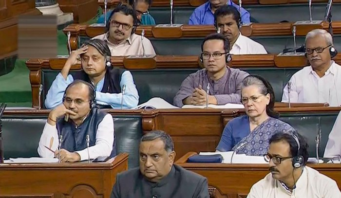 The Congress continued to demand a reply from Prime Minister Narendra Modi on US President Donald Trump's remarks on Kashmir mediation. (PTI Photo)