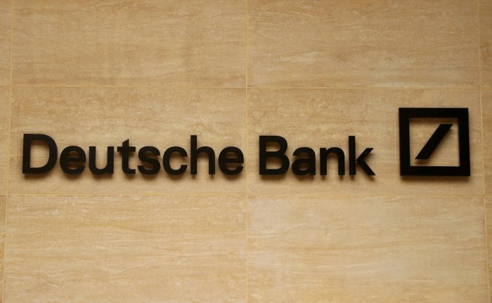The logo of Deutsche Bank (Reuters Photo)