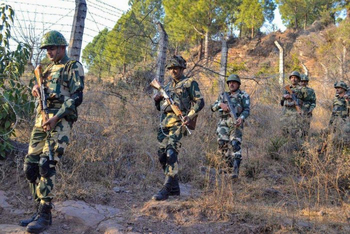 Punjab shares a 543-km long border stretch with Pakistan. Terror strikes in the past have indicated infiltration of militants into Punjab bounds through vulnerable border stretches, including riverine belts where patrol by security forces on foot or on patrol boats is a tall order. Fencing riverine zones are not seen as a viable option. (PTI File Photo)