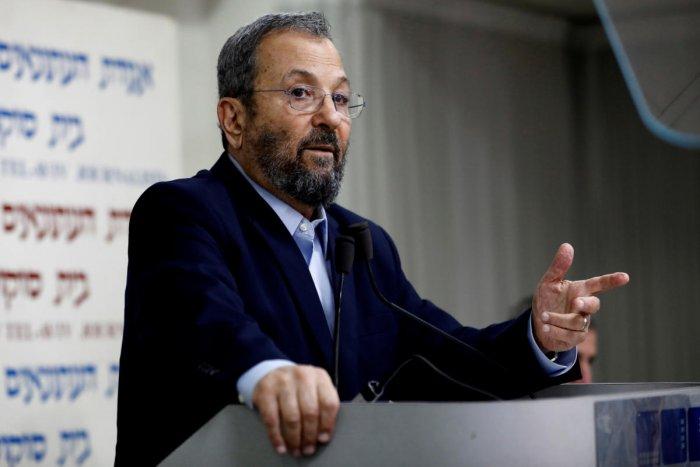 Former Israeli prime minister Ehud Barak. Reuters photo