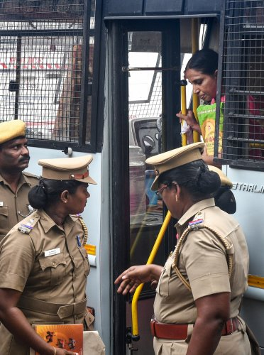 Nalini Sriharan was released on a month-long parole (PTI File Photo)