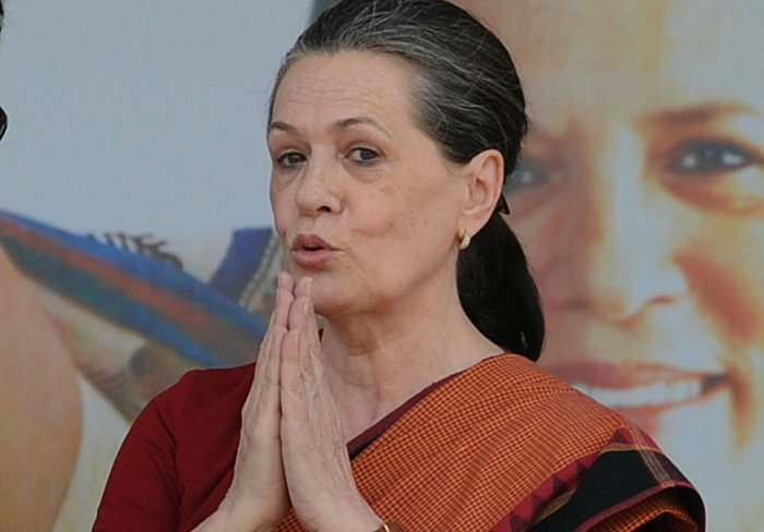 UPA chairpersonSoniaGandhi. DH file photo