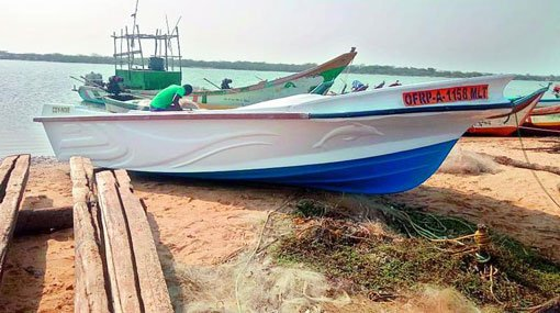 SriLankan mark Speed Boat found abandoned near SHAR | Deccan