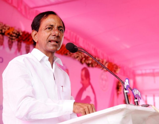 K Chandrasekhar Rao. File photo