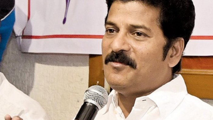 Telangana Congress Committee working president A Revanth Reddy. File photo
