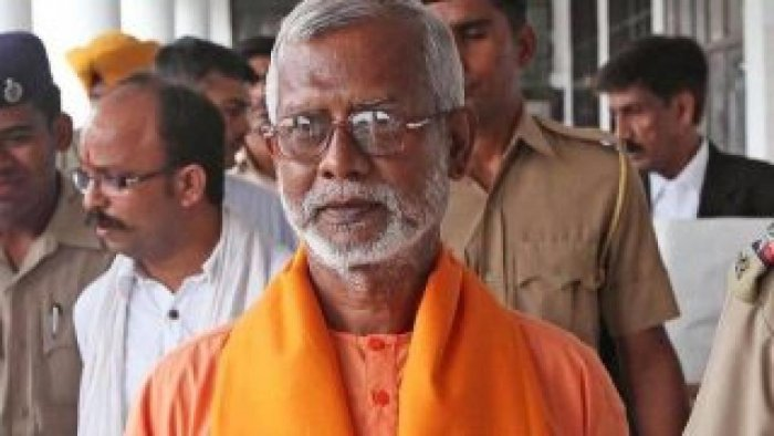 Swami Aseemanand was among the five accused.