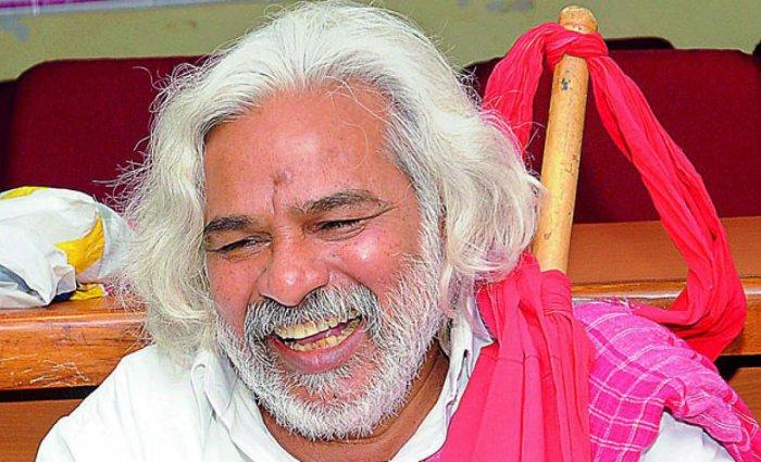 Revolutionary Telugu balladeer Gaddar