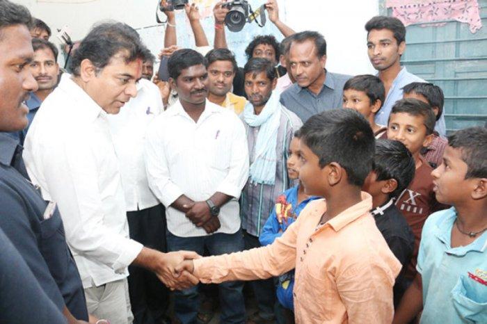K T Rama Rao. File photo