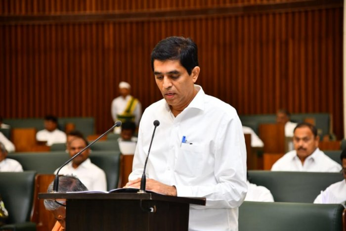 Finance and Assembly Affairs Minister Buggana Rajendranath Reddy