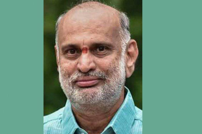 Rebel Congress MLA Arabail Shivaram Hebbar.