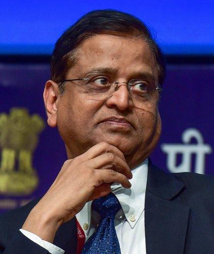 Economic Affairs Secretary Subhash Chandra Garg (PTI Photo)