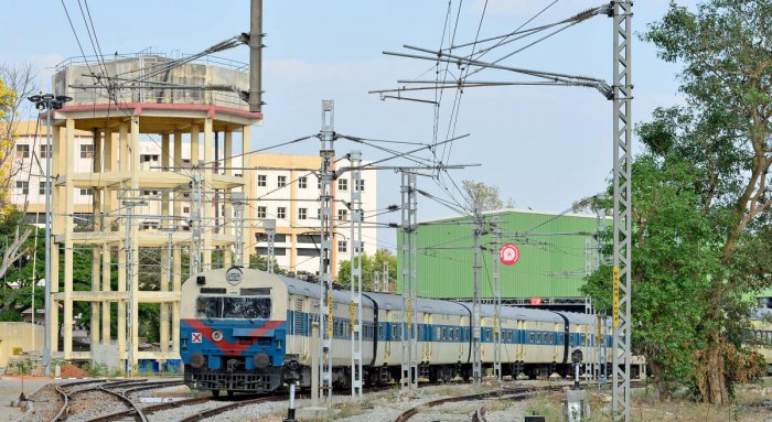 The railway lines on the Baiyappanahalli-Hosur and Yeshwantpur-Channasandra routes are to be doubled and electrified as part of the Bengaluru suburban train network.