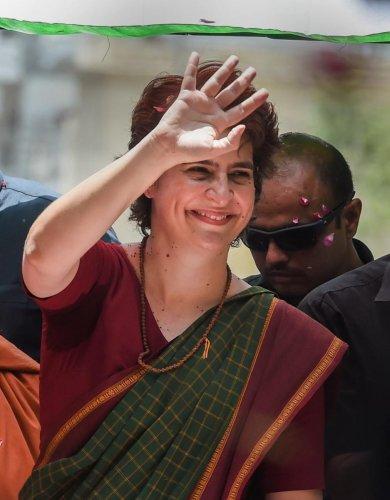 Congress General Secretary Priyanka Gandhi Vadra (PTI File Photo)