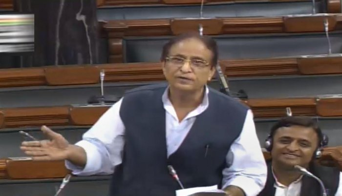 Azam Khan made some objectionable remarks in the Lok Sabha. Photo credit: PTI
