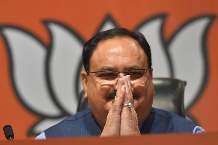 According to JP Nadda, Modi govt's first 50 days have been exemplary and many steps have been taken to improve lives of people. Photo credit: PTI