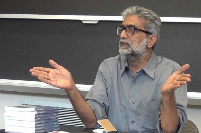 Prominent activist Gautam Navlakha. File photo