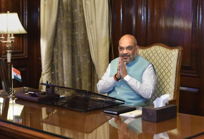 Shah also said India is extremely proud of CRPF personnel's valour and courage. (PTI File Photo)