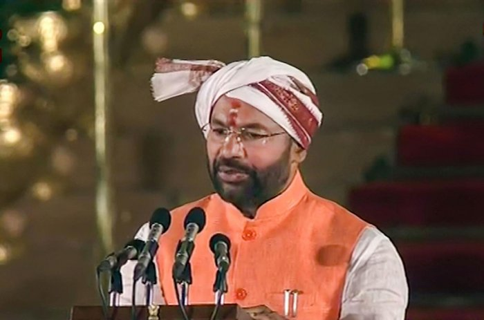 File picture of G Kishan Reddy. Photo credit: PTI