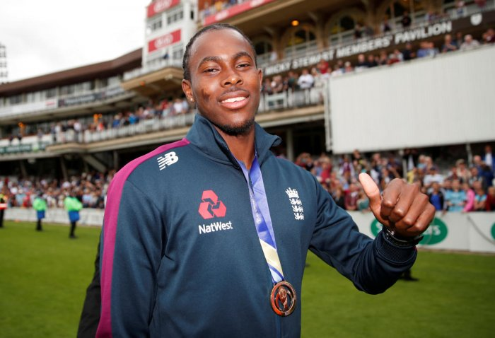 File photo of Jofra Archer. Photo credit: Reuters