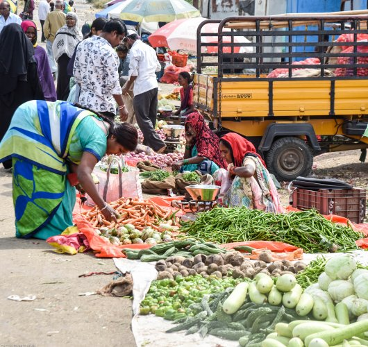 The food prices in the country are showing an upward trend as a deficiency in the rainfall during the current monsoon season is nearing 20%. (File Photo)