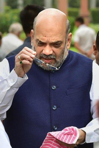 File photo of Amit Shah (PTI)