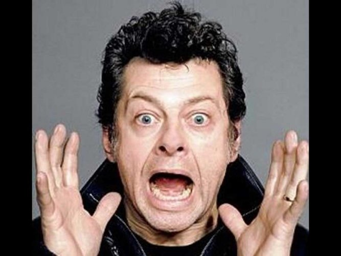 Actor Andy Serkis (DH Photo)