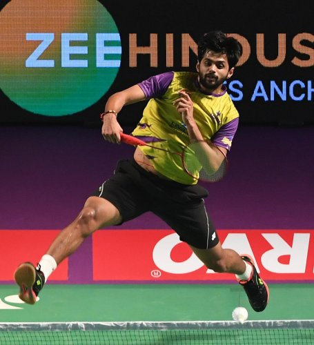 India's challenge at the Japan Open-ended with Sai Praneeth's loss to top seed and home hero Kento Momota in the semifinals here on Saturday. (DH Photo)