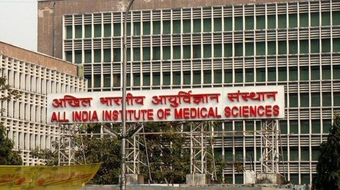 """Resident doctors and students at the AIIMS here wore black badges to work on Saturday in a symbolic protest against the National Medical Commission (NMC) Bill which, they alleged, was """"anti-poor"""". (File Photo)"""