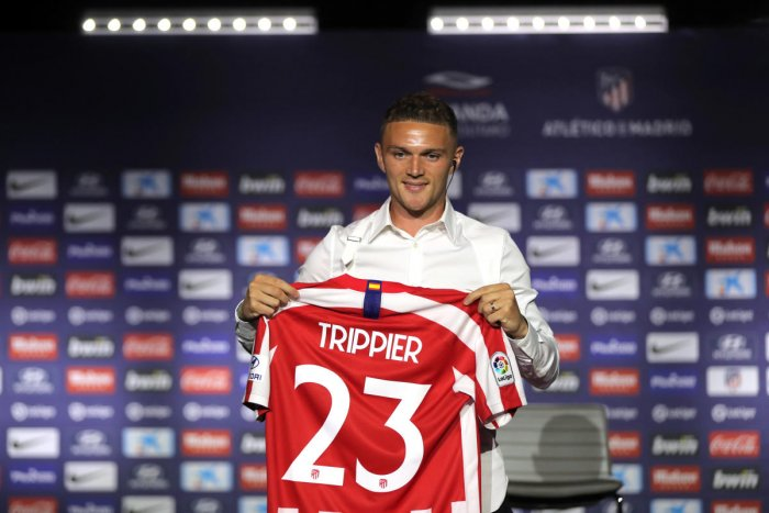 New Atletico Madrid signing Kieran Trippier said he is settling into life with the Spanish club quicker than expected thanks to his teammates, and reserved praise for his new manager's approach to coaching. (Reuters Photo)