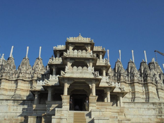 A few snapshots of the Ranakpur Jain Temple. PHOTOS BY AUTHOR