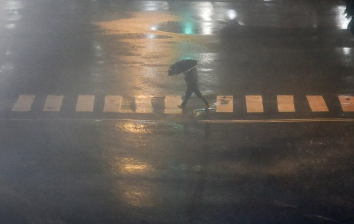 Incessant rains continued to lash Nashik city and parts of the district for the third consecutive day on Saturday, inundating low-lying areas and affecting normal life to some extent.(PTI Photo)