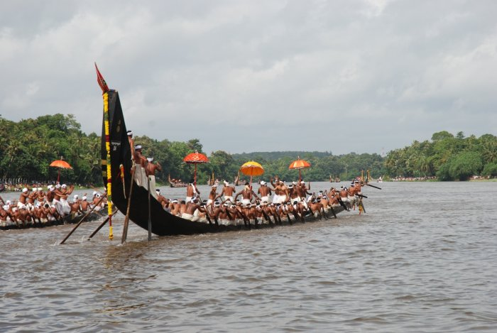 The snake boat race of Kerala is getting a major fillip as many leading corporate and celebrities are likely to bid for the maiden edition of Champions Boat League (CBL). (File Photo)
