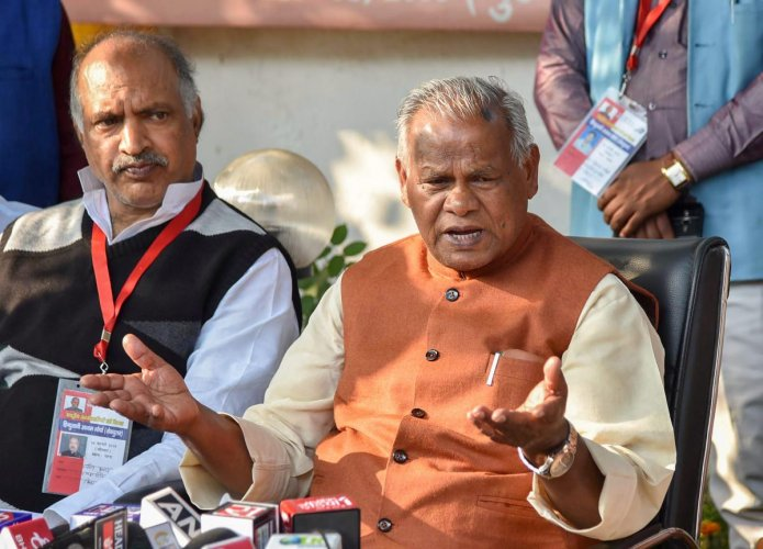 Former Bihar Chief Minister Jitan Ram Manjhi. File photo