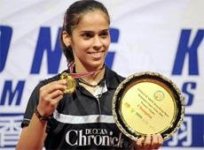 Saina wins Hong Kong Open Super Series