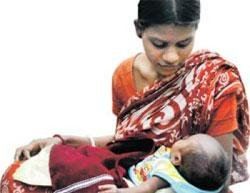Baby doom as India booms