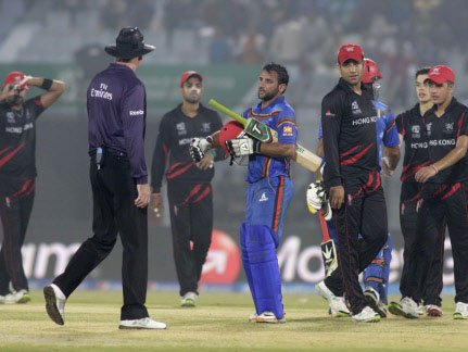 Afghanistan knock Hong Kong out of World T20 Qualifiers