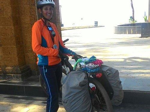 Panvel girl cycles 1,800 km to Kanyakumari, alone, in 19 days