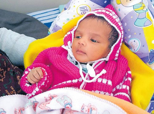 City docs discover foetus inside justborn baby's abdomen