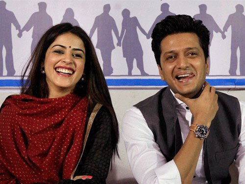 Riteish, Genelia welcome second baby boy