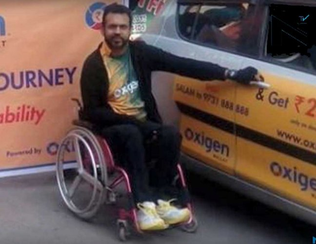 Paraplegic drives from Leh to Kanyakumari in record time