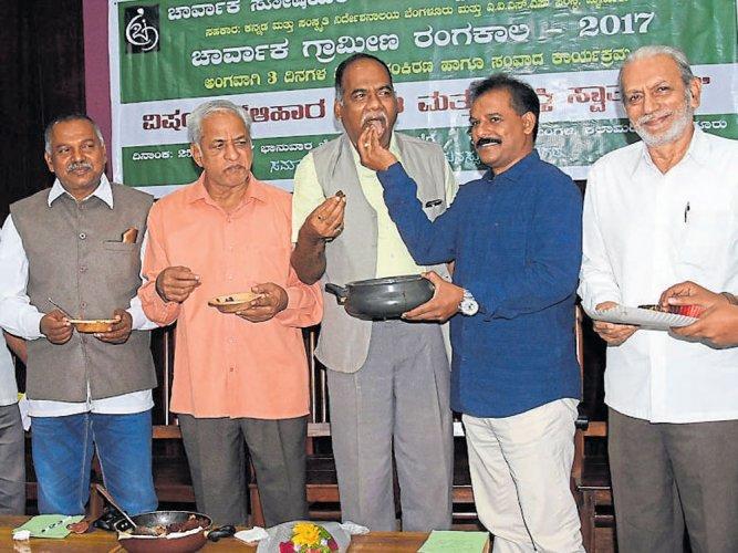 Consumption of beef at seminar held at govt hall triggers row