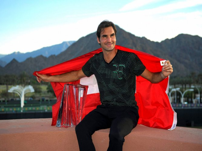 He's having a baby! Federer ponders pregnancy