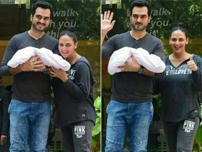 Esha Deol blessed with a baby girl