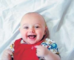 How a baby photo turned a Net 'meme'