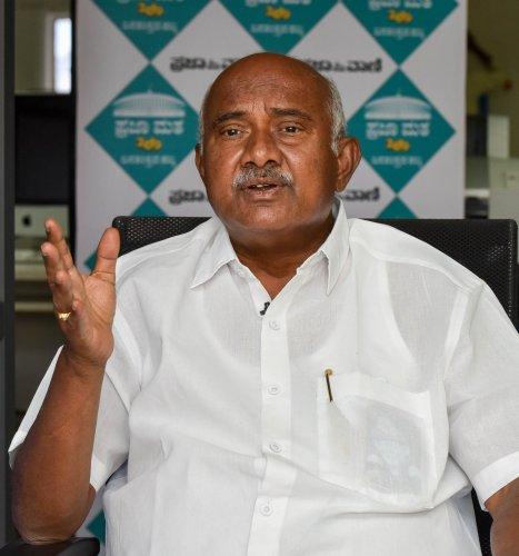 Former Hunsur legislator A H Vishwanath. (DH Photo)