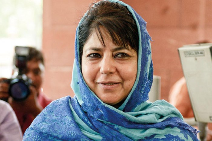 Jammu and Kashmir and PDP president Mehbooba Mufti (DH Photo)