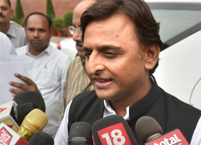 SP chief Akhilesh Yadav alleged that it could be a conspiracy to kill her and demanded a CBI probe into the Sunday incident. (PTI Photo)