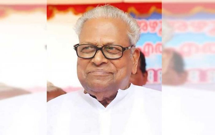 Veteran CPM leader and former Kerala Chief Minister V S Achuthanandan (Image courtesy Facebook)