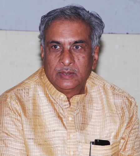 MLC and former minister Basavaraj Horatti.